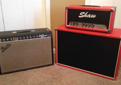 Andrew Timothy's 1965 Fender Deluxe Reverb and Shaw Fulltilt 30