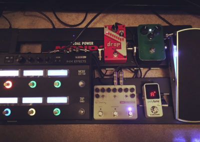 Andrew Timothy's Touring Pedal Board
