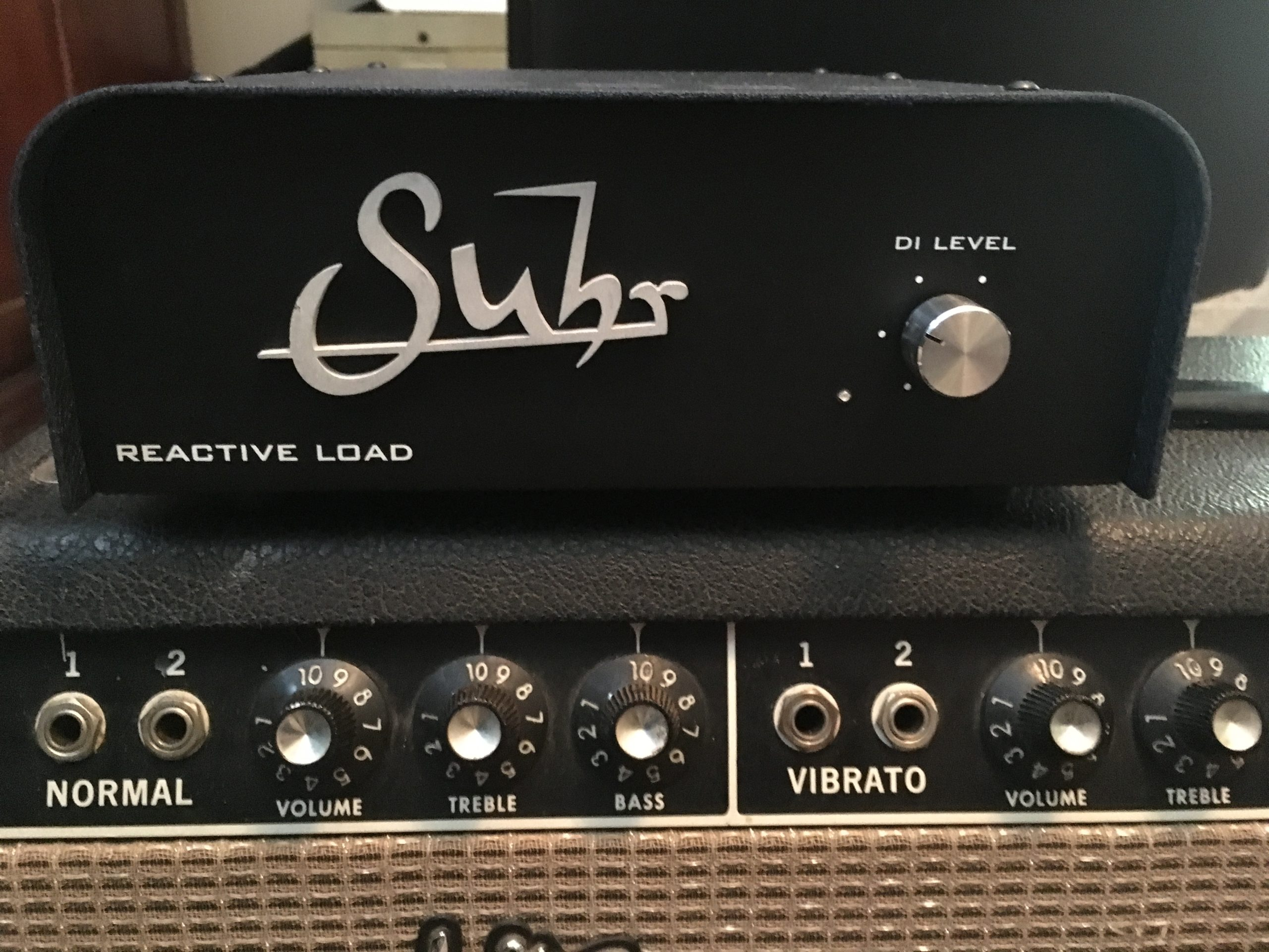 Andrew Timothy's Suhr Reactive Load