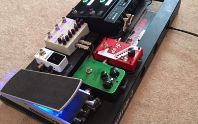 Touring Pedal Board Re-build: Part 1