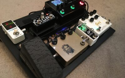Touring Pedal Board Re-build: Part 2