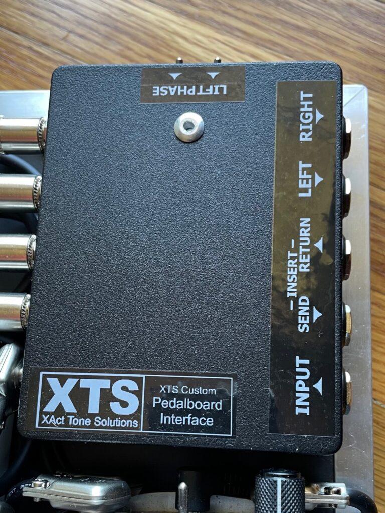 Custom XTS pedalboard interface